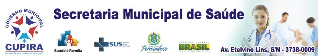 Secretaria Municipal de Saúde/Cupira-PE